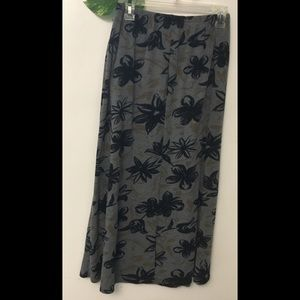 Long maxi skirt by Sag Harbor size Medium.